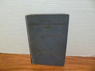 The Best British Short Stories 1938 Edited By Edward J. O'Brien