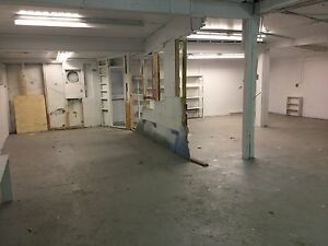 Shop - storage space available.  About 1200 plus sq. ft