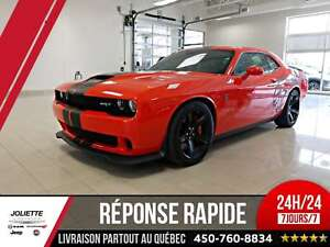 2017 Dodge Challenger SRT Hellcat, 707 HP! SUPERCHARGED! CUIR, T