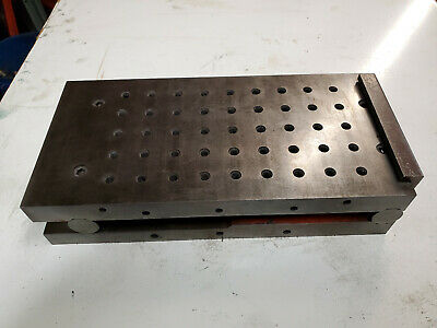 Suburban Tool 6x12 Sine Plate Sp2612 Machinist Set Up Tool Mill Grinder Tapped