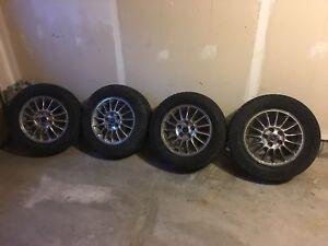 225/65/16 winter tires on rims