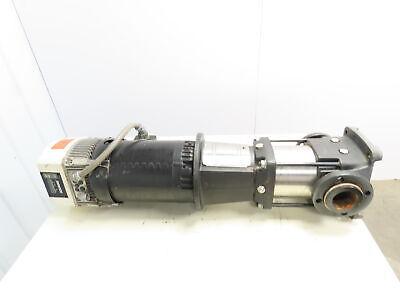 Grundfos Cr32-2u-g-a-e-kube 7.5hp Vertical Multistage Inline Pump Waquavar Vfd