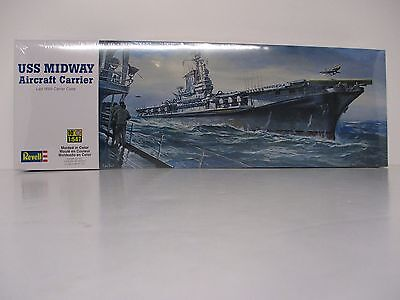 Revell Vintage Ship Models USS Midway CV-41 Aircraft Carrier New in F/S Box