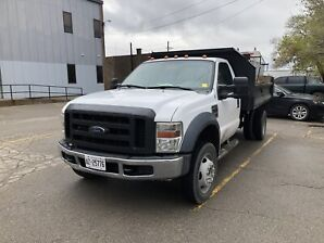2008 Ford F550 4x4 dump Sold pending pickup
