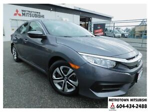 2018 Honda Civic LX; Local & No accidents! LOW KMS!