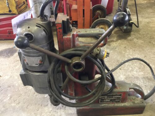 Milwaukee Electromagnetic Drill Press cat #4210