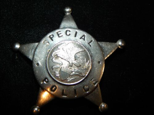 ANTIQUE ILLINOIS SPECIAL POLICE  IL  STATE OFFICER ILL