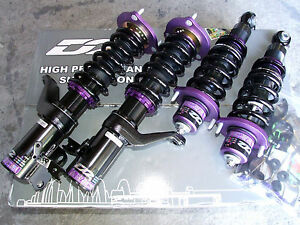 D2 Racing RS Series 36 way Coilovers Lowering Suspension Kit Honda Accord 13+