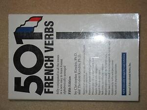501 French Verbs By Christopher & Theodore Kendris (FREE DELIVERY Hurstville Hurstville Area Preview