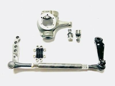 DANA 44 CHEVY 10 BOLT/JEEP COMPLETE 1-TON CROSSOVER HIGH STEER KIT-W KNUCKLE DOM