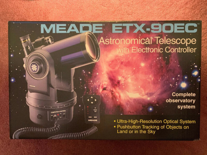 Meade Telescope ETX-90EC Astro with Electronic Controller ONLY *No Accessories