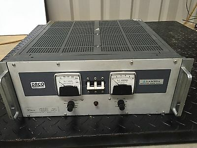 Lambda Lb-706-fm Variable Dc Power Supply