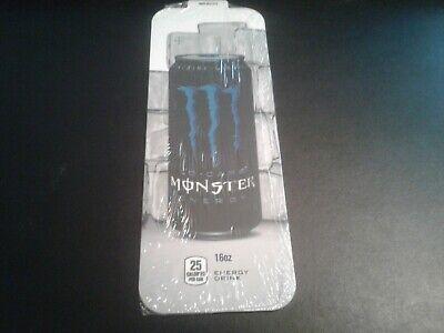 10pack Royal Vendors Soda Vending Machine 16oz Monster Lo Carb Can Vend Label