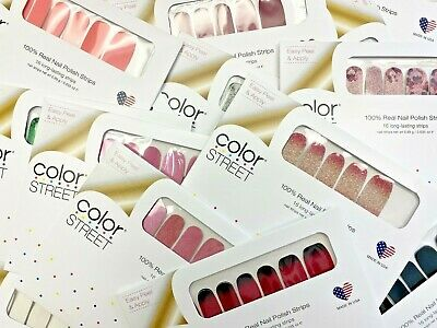 Color Street Nail Strips/ Dry Polish - BUY 3 GET 1 FREE - Free Shipping!   Dry Nail Colour
