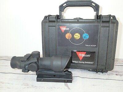 Trijicon ACOG 717598 TA01 w/Weaver mount setting Scope #M