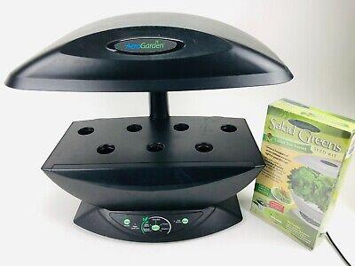 AeroGarden 7 Pod Indoor Hydroponic Garden - Black - 100710-BLKw/ Seed Kit *
