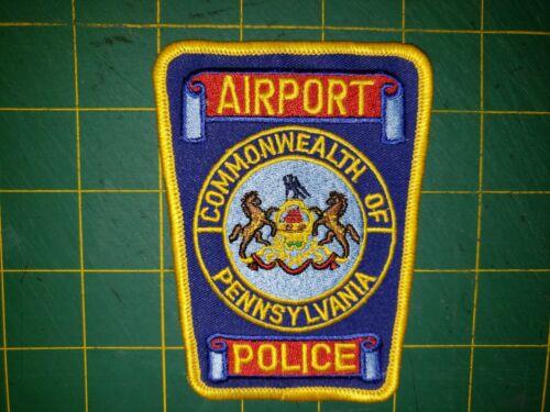 COMMONWEALTH OF PENNSYLVANIA AIRPORT POLICE PITTSBURGH PATCH PHILADELPHIA METRO