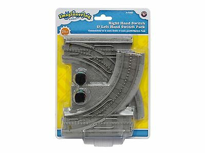 LIONEL Imagineering Little Lines Train LEFT RIGHT SWITCH PACK NEW Add On 7-11627