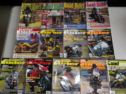 AUSTRALIAN ROAD RIDER MAGAZINES $14 THE LOT