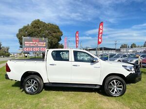 2016 TOYOTA HILUX  WORKMATE (4x4)  DUAL CAB 2.4LDIESEL TURBO AUTOMATIC Kenwick Gosnells Area Preview