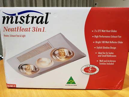Mistral NeatHeat 3in1 -NEW