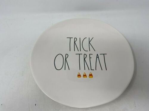 New Ceramic Trick Or Treat 11in Serving Plate By Rae Dunn Cer0811-921