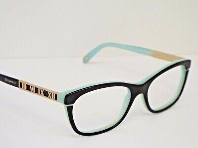 6d5cd61467da Authentic Tiffany & Co. TF 2102 8055 Black Tiffany Blue Eyeglasses Frame  $320**