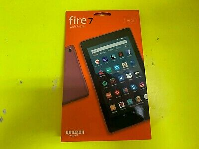 "Amazon Kindle Fire Tablet 16 gb 9th Generation 2019 Alexa 7""Plum"