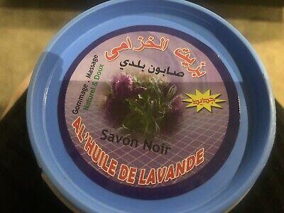 Moroccan Lavender Organic Savon Noir Black Soap