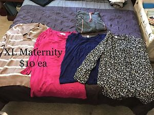 L and XL Maternity Clothes