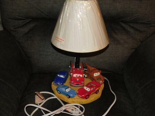 Disney Pixar Cars Table Lamp 3D Radiator Springs Lightning McQueen Mater Movie