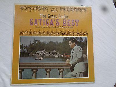 The Great LUCHO GATICA :  Lucho`s Best -  CAPITOL USA Vinyl LP 1960er Jahre