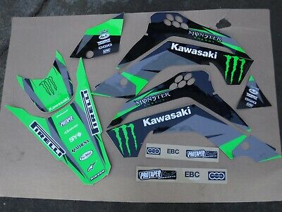Team pro Circuit Kawasaki racing graphics KLX140 all years  2008-2020  KLX 140 Team Kawasaki Pro Circuit