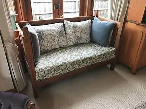 Antique Wooden Day Bed Sofa Sandy Bay Hobart City Preview