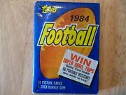 Topps Football Wax Box