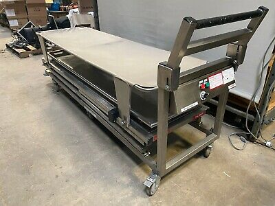Thermo Shandon Cadaver Lift B1000625 Electric Morgue Transport Table