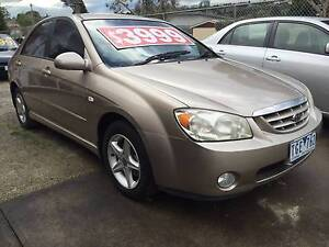 2004 Kia Cerato Sedan Five Speed Manual. LOW Ks !!! Box Hill North Whitehorse Area Preview