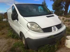Renault Traffic Van parts or repair engine blown no rego