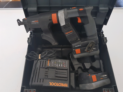 Protool Collated Screw Gun with Auto Feature