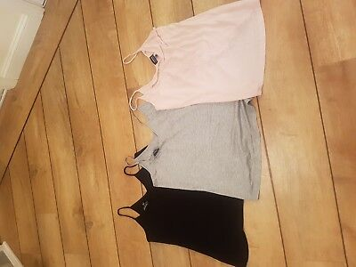 3 warehouse strappy vests (Warehouse Maternity)