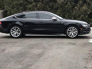 2015 Black Audi S7