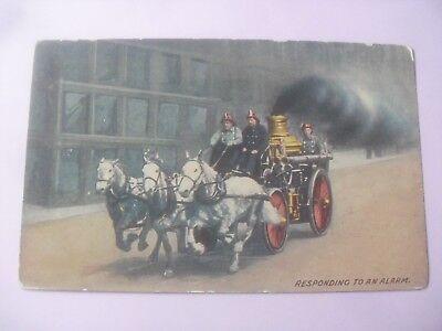 Fire engine horse drawn