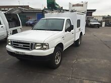 2005 Ford Courier 4WD SERVICE BODY, LONG REGO, EX TELSTRA St Peters Marrickville Area Preview