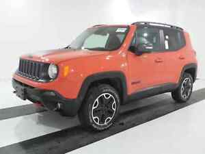 2016 Jeep Renegade TRAILHAWK | HEATED SEATS | BACK UP CAM | 4X4