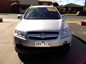 2010 Holden Captiva LX Automatic SUV 4X4 7 SEATER Bacchus Marsh Moorabool Area Preview