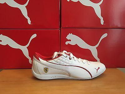 Puma Drift 6 Cat White Ferrari RRP £95.00 Uk 6.5 Eu 40