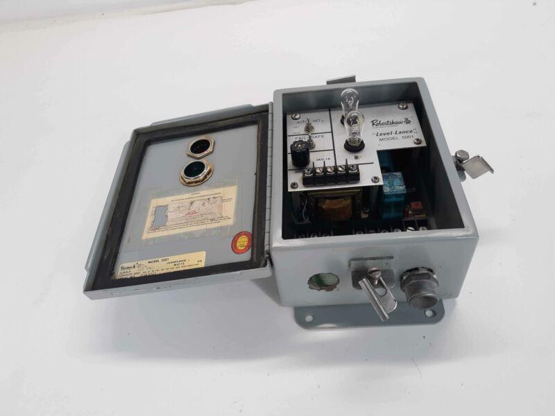 Robertshaw 5001 Level-Lance Level Transmitter 120v-ac