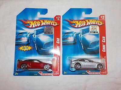 Hot Wheels 2007 Factory Set 2007 Code Car Honda Civic lot x 2  bin 31