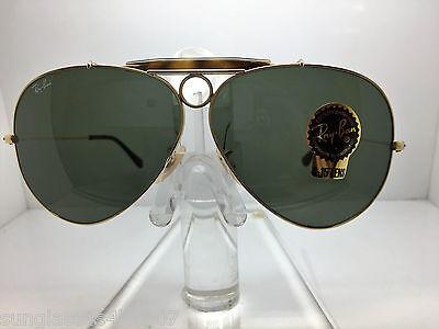 New Ray Ban Sunglasses RB 3138 181 62MM SHOOTER TORTOSE/GOLD (Ray Ban Shooter Sunglasses)