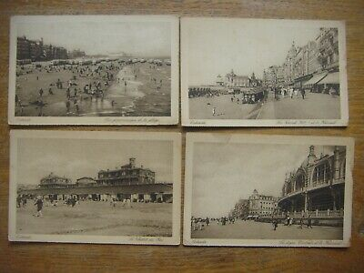Lot de 6 cartes de OOSTENDE ( Ostende )
